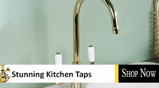 24ct gold kitchen taps