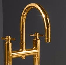 Gold Bath Taps & Spouts