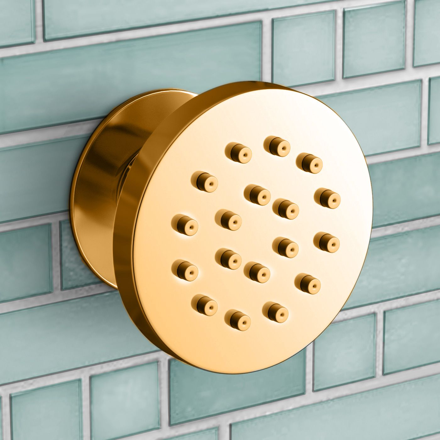 Completely new Shower Body Jets - Round HZ07